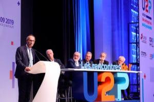 Rencontres de l'U2P 2019 | Éric Woerth, président de la Commission des finances de l'Assemblée nationale, est revenu sur les grands enjeux du Projet de loi de finances pour 2020.