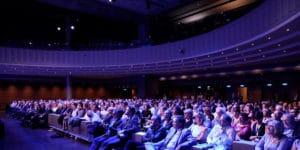 Rencontres de l'U2P 2019 | Le public dans l'amphithéâtre de la Maison de la Mutualité, à Paris.