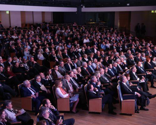 Rencontres de l'U2P 2017 – L'auditorium où 600 participants assistent au discours du Premier ministre Édouard Philippe Crédit Photo Cocktail Santé